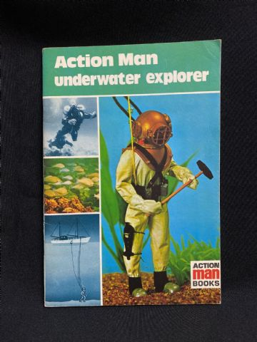 ACTION MAN BOOK - ACTION MAN UNDERWATER EXPLORER